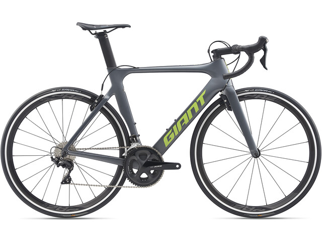 Giant Propel Advanced 2, charcoal grey/green matte gloss